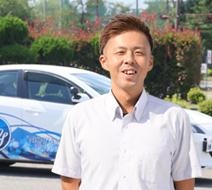 西多摩自動車学校 雨倉 直也指導員『わからない事何でも聞いて下さい、免許取得まで一緒にがんばりましょう。』