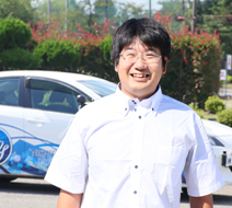 西多摩自動車学校 稻田 和也指導員『運転は自分の世界を広げます、世界を広げる翼を手に入れよう!』