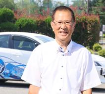 西多摩自動車学校 井上 喜久男指導員『免許を取得すると楽しい人生が広がります。』
