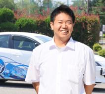 西多摩自動車学校 前野 智哉指導員『免許取得を目指して一緒にがんばりましょう!』