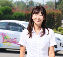 西多摩自動車学校 斎藤 渚指導員『1時限を大切に、一緒にがんばりましょう。』