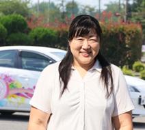 西多摩自動車学校 佐藤 文子指導員『免許取得を目指して一緒にがんばりましょう。』