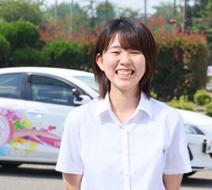 西多摩自動車学校 田中 美咲指導員『分かりやすい教習ができるように心がけていきますので、一緒に頑張りましょう!』